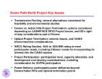 green path north project key issues