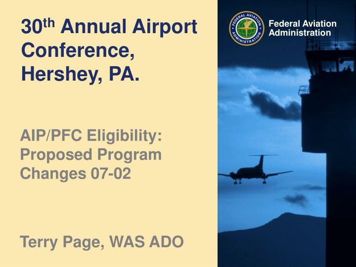 30 th annual airport conference hershey pa