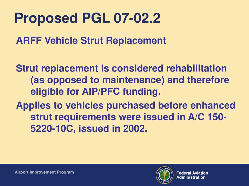 Proposed PGL 07-02.2