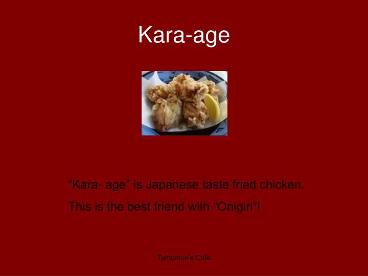 Kara age