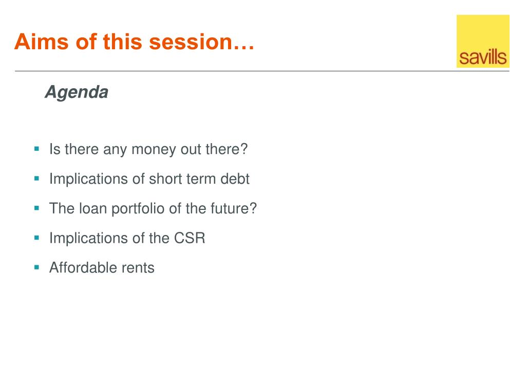Aims of this session…