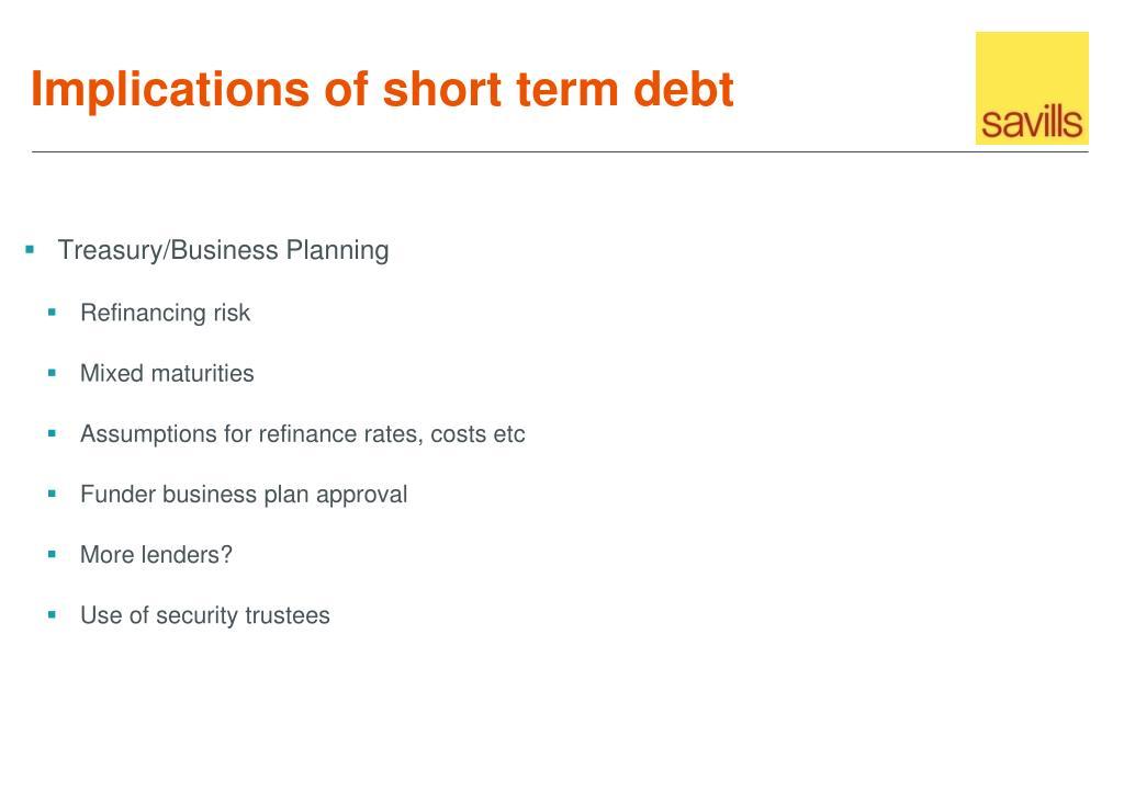 Treasury/Business Planning