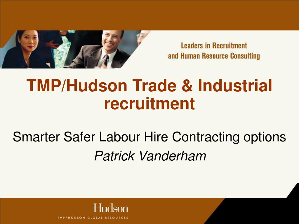 tmp hudson trade industrial recruitment l.