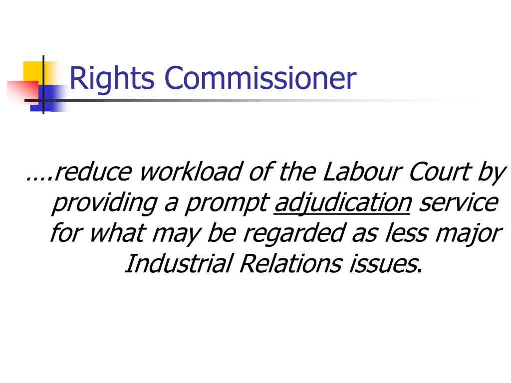 Rights Commissioner