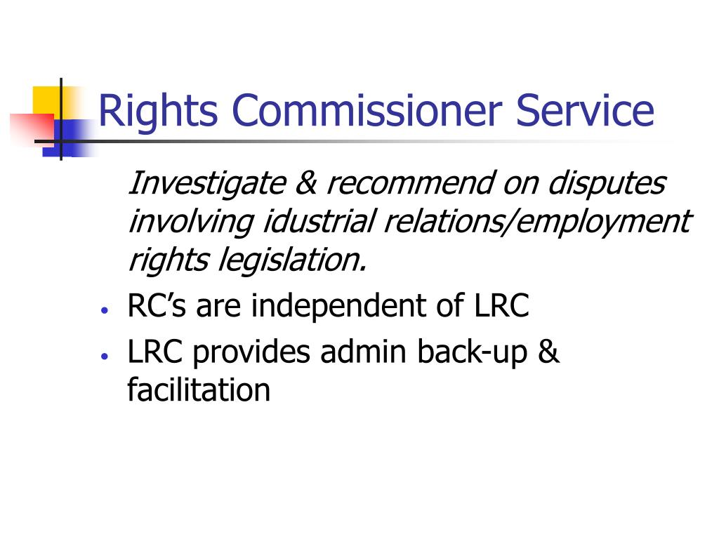 Rights Commissioner Service