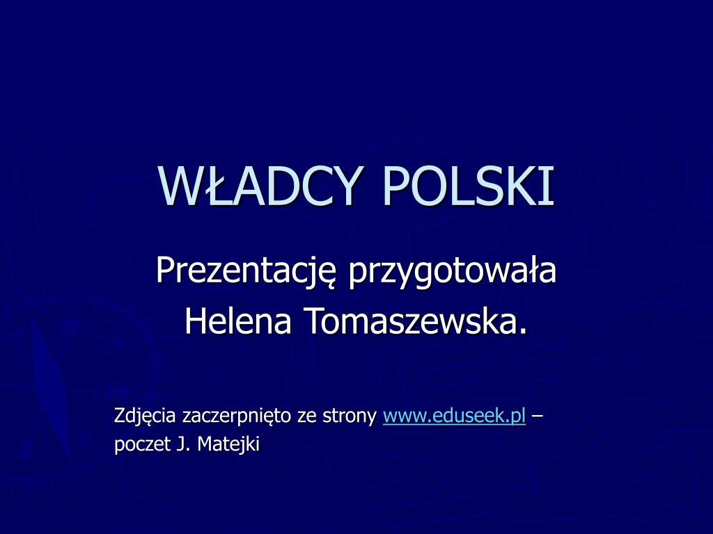 w adcy polski