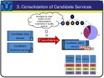 3 consolidation of candidate services