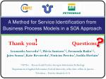 a method for service identification from business process models in a soa approach29