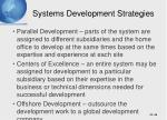 systems development strategies46