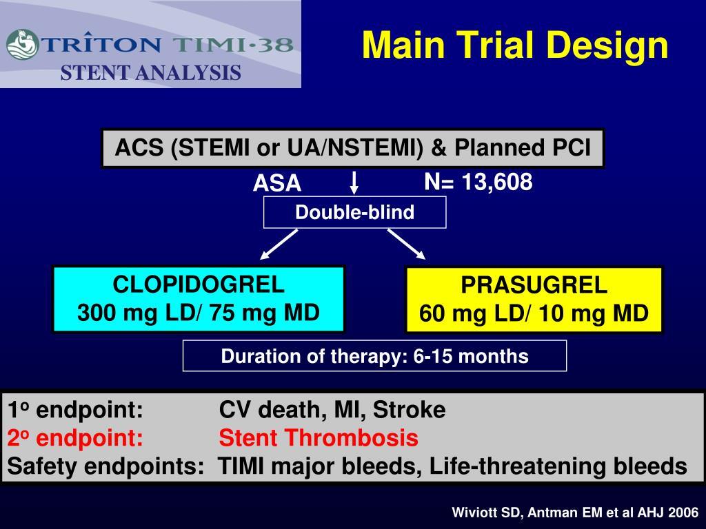 Main Trial Design