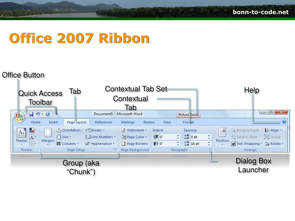 Office 2007 Ribbon