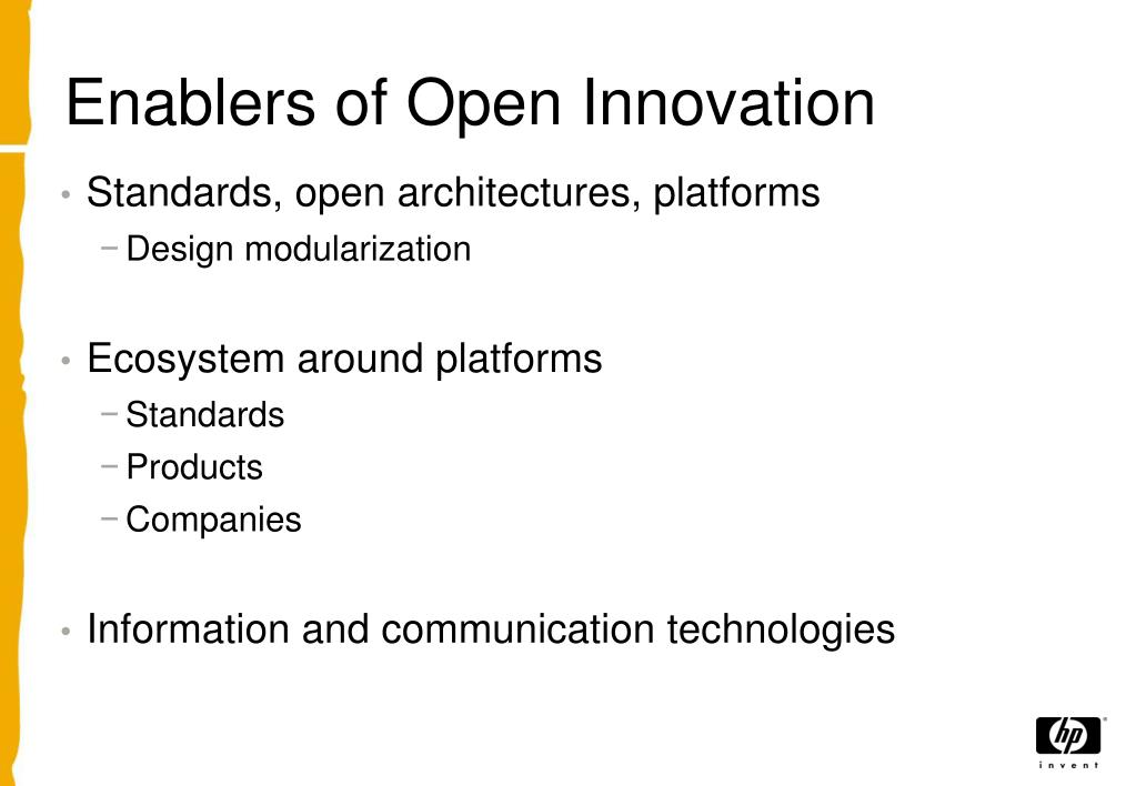 Enablers of Open Innovation