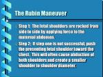 the rubin maneuver