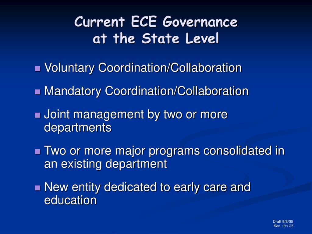 Teaching Collaborative Governance ~ Ppt governance options part i powerpoint presentation