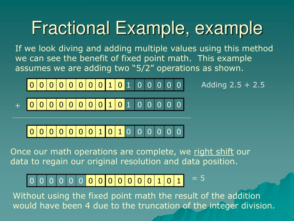 Fractional Example, example