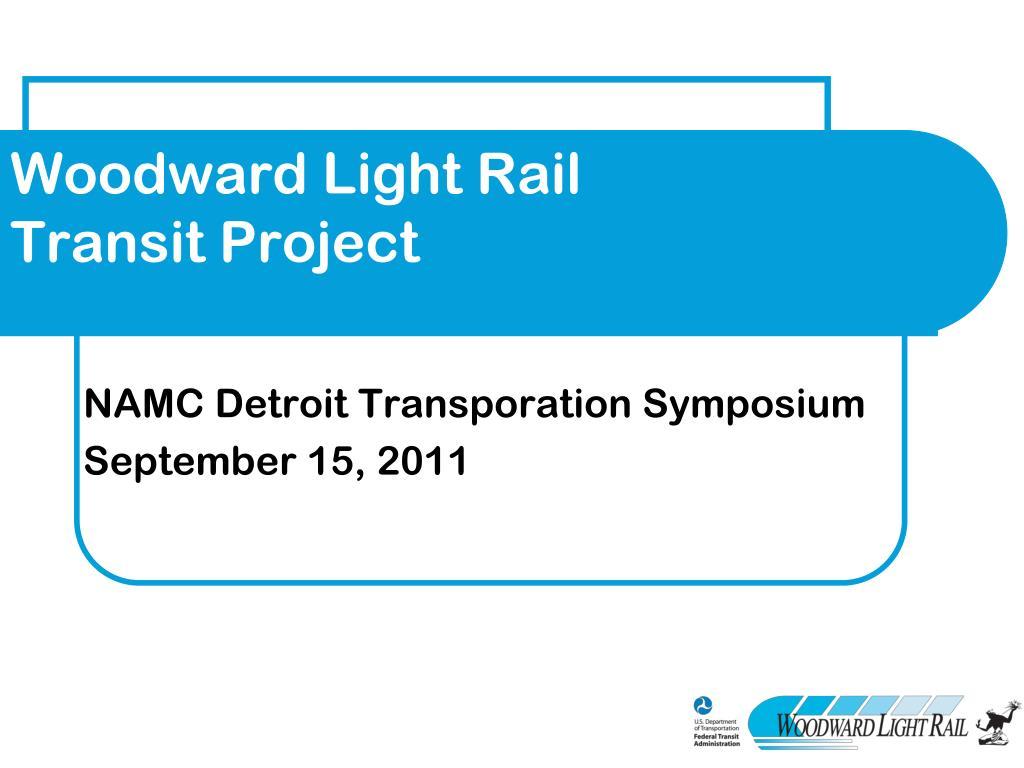 Woodward Light Rail