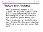 analyze your audience8