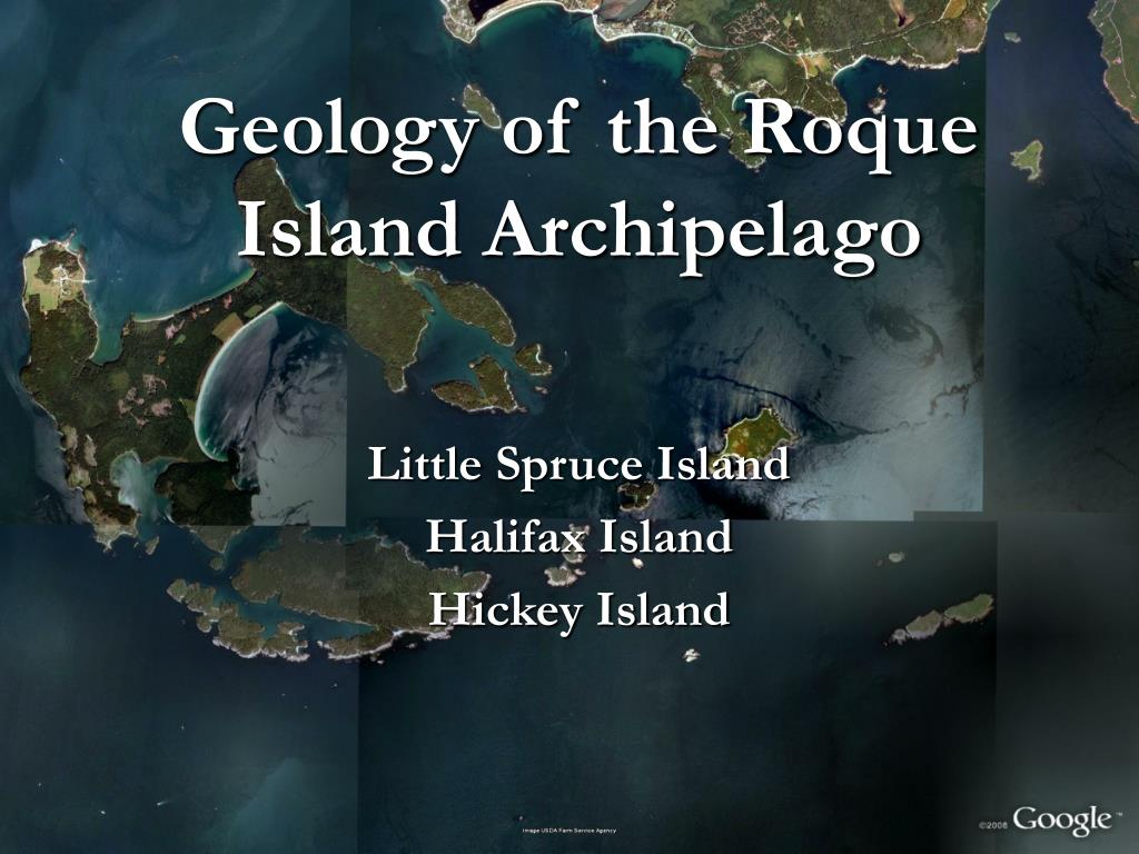 geology of the roque island archipelago