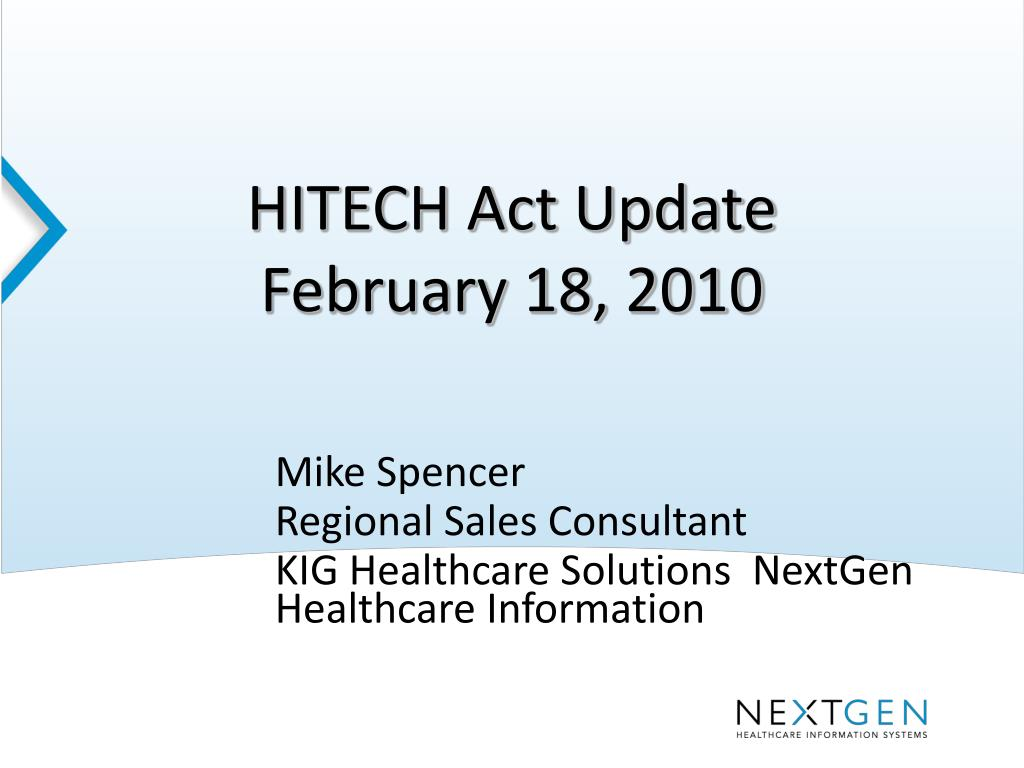 what is hitech act summary