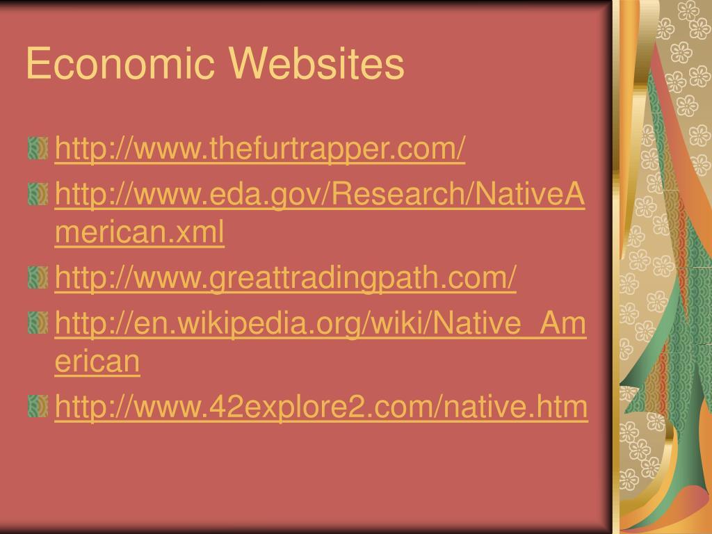 Economic Websites