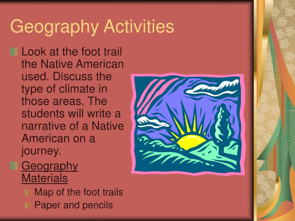 Geography Activities