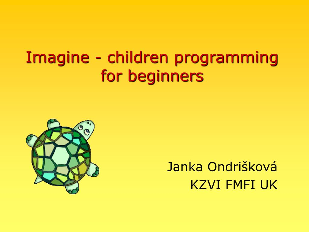 imagine children programming for beginners l.