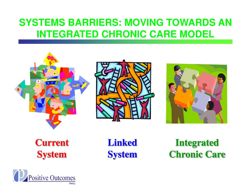 SYSTEMS BARRIERS: MOVING TOWARDS AN INTEGRATED CHRONIC CARE MODEL