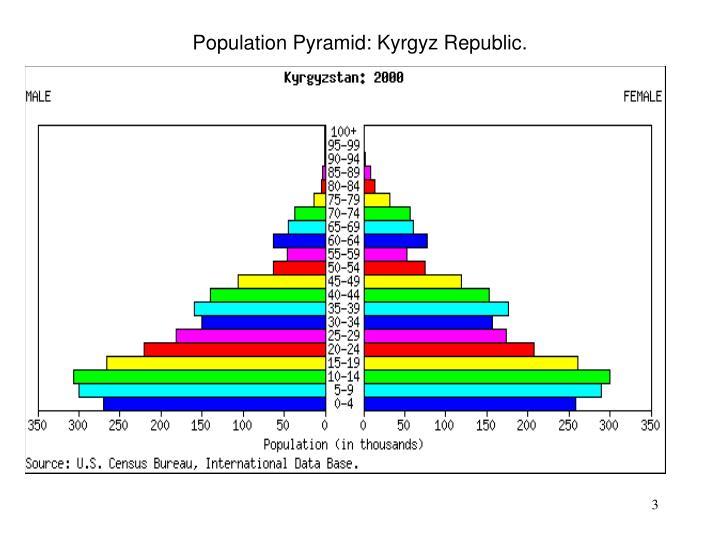 Population pyramid kyrgyz republic
