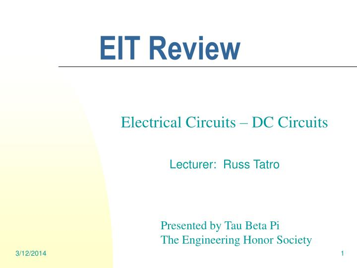 Eit review