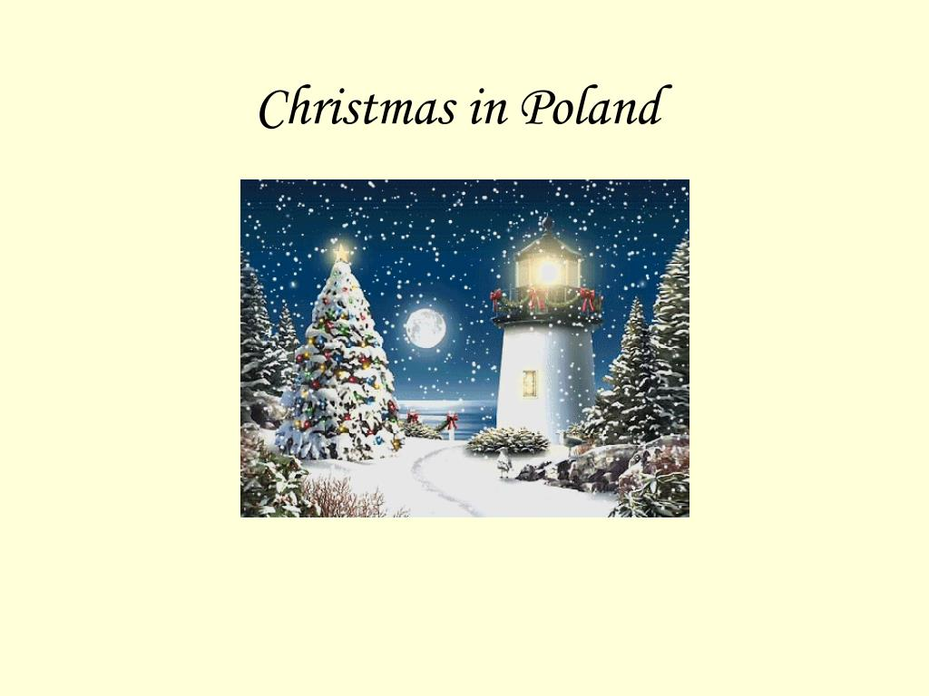 christmas in poland l.