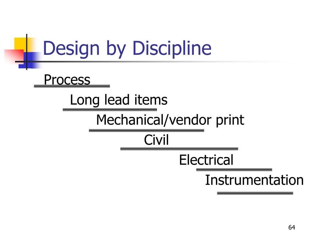 Design by Discipline