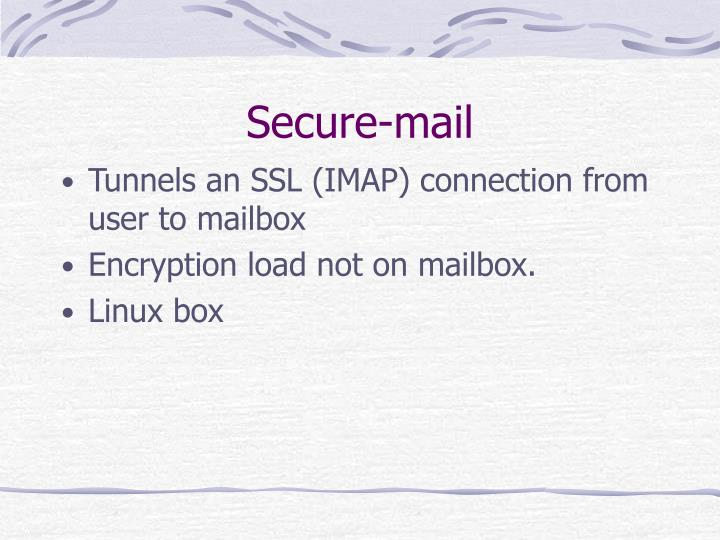 Secure-mail