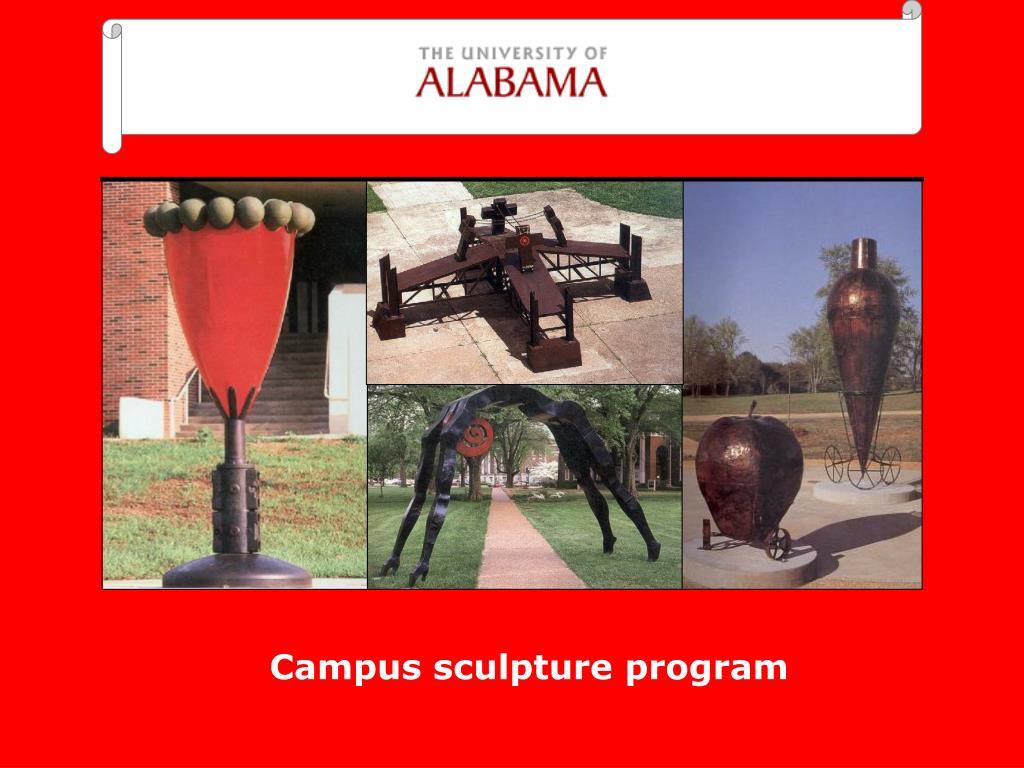 Campus sculpture program