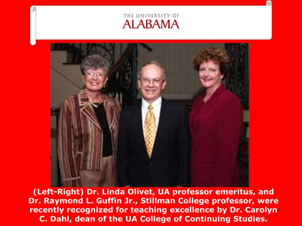 (Left-Right) Dr. Linda Olivet, UA professor emeritus, and
