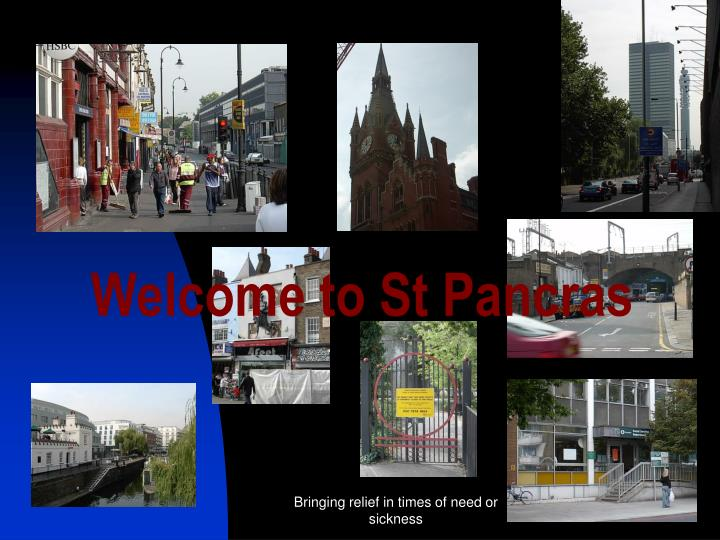 Welcome to St Pancras