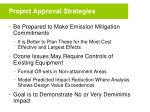 project approval strategies