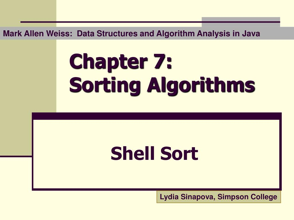 Mark Allen Weiss:  Data Structures and Algorithm Analysis in Java