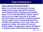 case conference 3