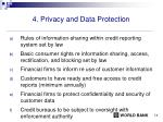 4 privacy and data protection