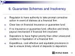 6 guarantee schemes and insolvency
