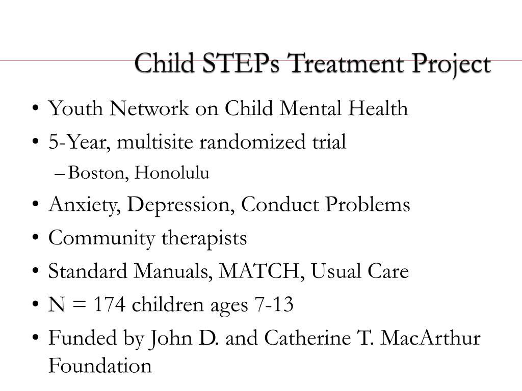 Child STEPs Treatment Project