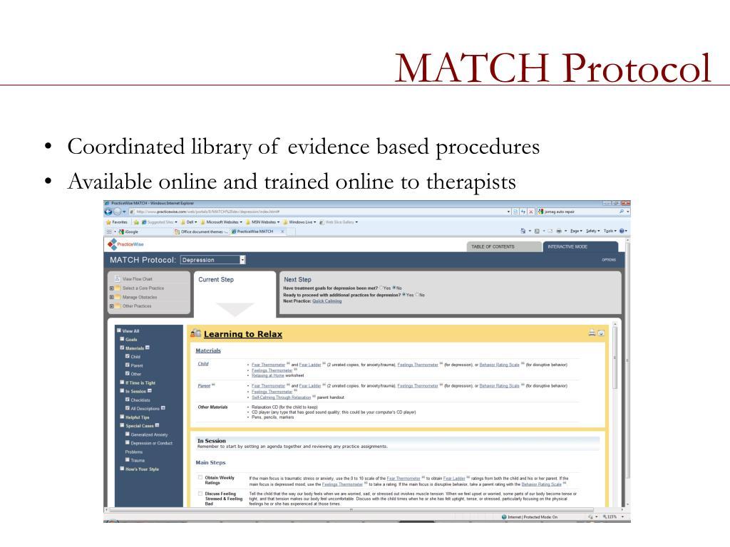 MATCH Protocol