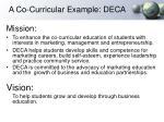 a co curricular example deca