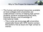 why is this project so important