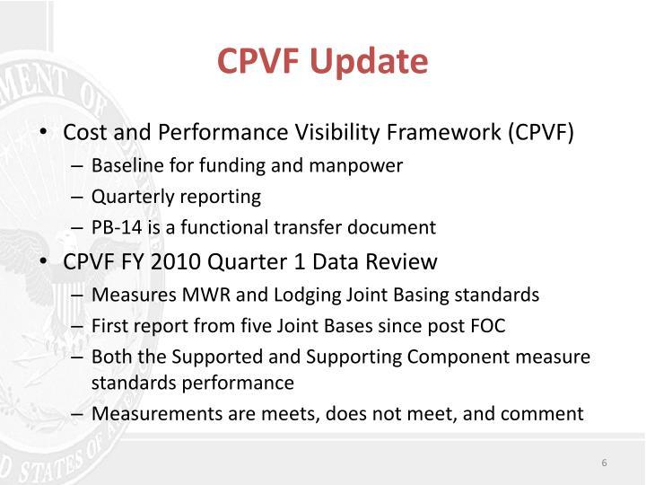 CPVF Update