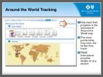 around the world tracking