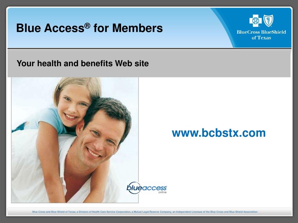 blue access for members l.