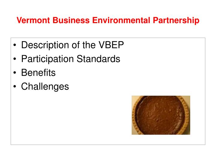 Vermont business environmental partnership2
