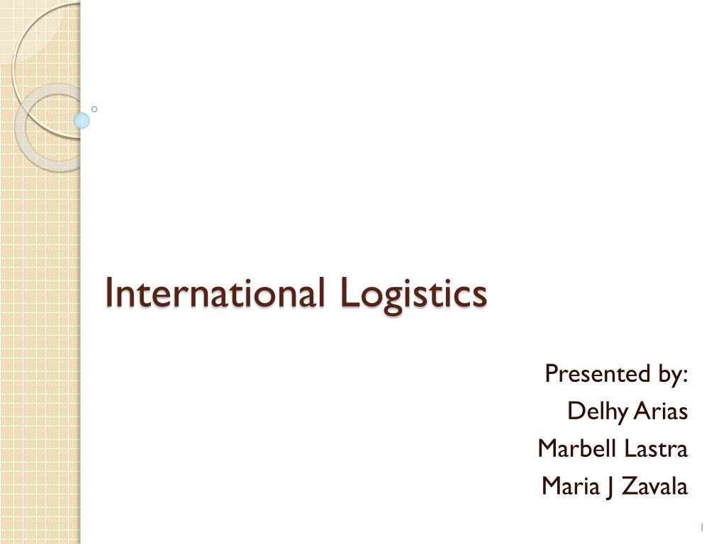 international logistics l.