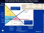 international trade in an importing country